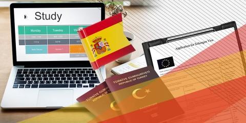 İspanya Öğrenci Vizesi (90 Günden fazla)